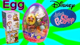 LPS Disney Funko Surprise Mystery Minis Blind Bag Bobbleheads Easter Egg Littlest Pet Shop Unboxing