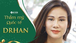Chị Thanh Hiền chia sẻ cảm nhận khi sử dụng phương pháp Căng da mặt bằng Chỉ không tiêu Hoa Kỳ