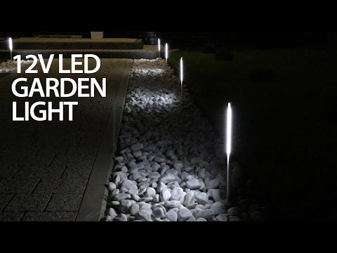 Cheap LED garden light that doesn't suck (12V DIY)