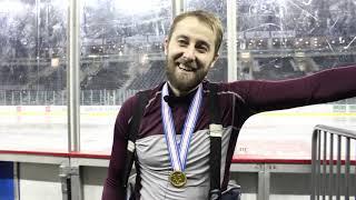 Иван Полошков о победе в Континентальном Кубке/Головой об лед