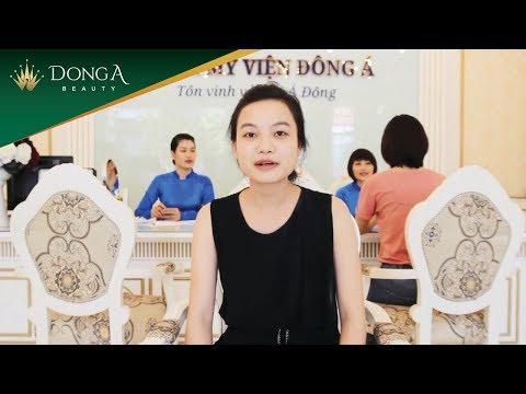 Video khách hàng đánh giá, cảm nhận về dịch vụ tắm trắng tại Đông Á