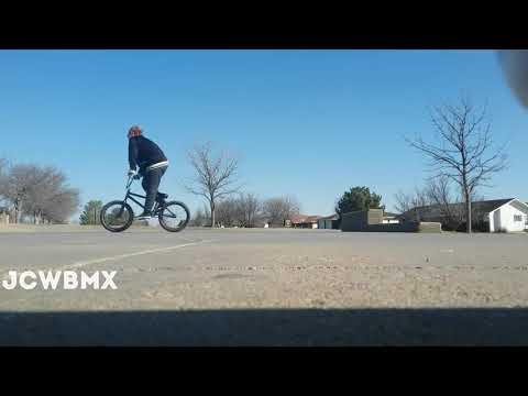 Bmx at Hays kansas skatepark