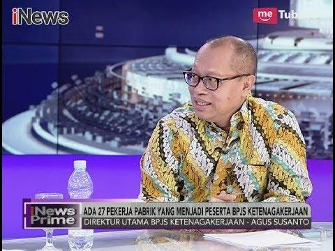 BPJS Ketenagakerjaan Berikan Santunan Korban Kebakaran Pabrik Petasan - iNews Prime 03/11