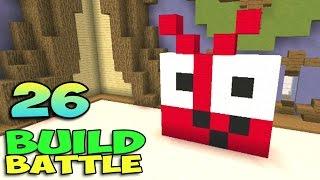 ч.26 Minecraft Build Battle - Демон и Плюшевый Мишка