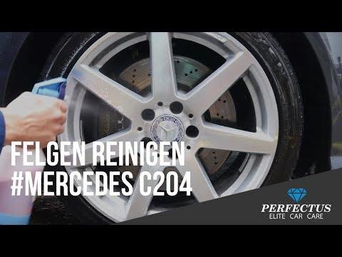Felgen reinigen für Profis #Mercedes C204