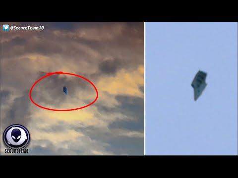 Capturan en vídeo impresionante OVNI sobre Base Militar de EE.UU.