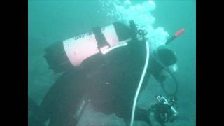 preview picture of video 'Sukeldumine Paldiski pangal 27.07.11'