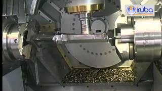 IRUBA Schruppbearbeitung Turbinenschaufel