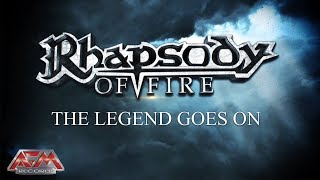RHAPSODY OF FIRE - The Legend Goes On (2018) // Official Lyric Video // AFM Records