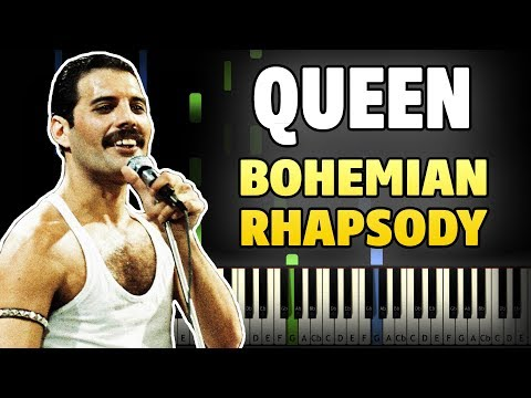 Bohemian Rhapsody Piano Tutorial (link to free sheet music