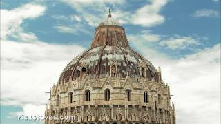 Thumbnail of the video 'Pisa, Its Leaning Tower, Baptistery, and Cathedral'