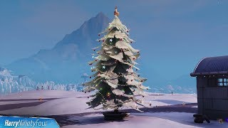 Fortnite Battle Royale - All Holiday Tree Locations Guide (14 Days of Fortnite Challenge)