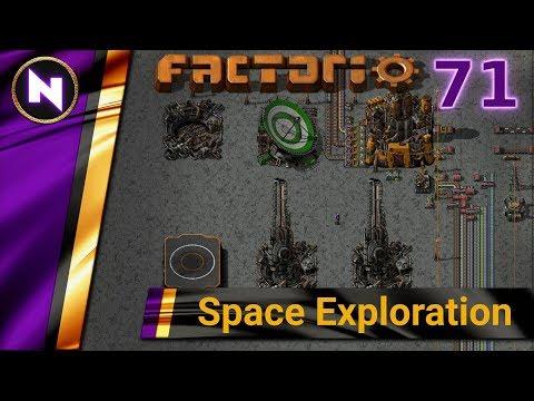 Factorio 0.17 Space Exploration  #71 COAL LIQUEFACTION