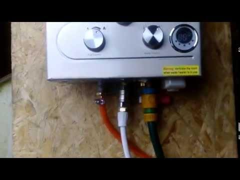 Test FASTAR 8L LPG Propane Gas Tankless Instant Hot Water Heater