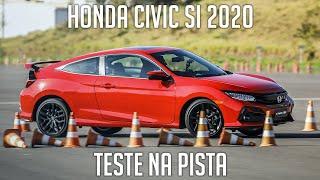 Honda Civic Si 2020 - Teste na pista e entrevista