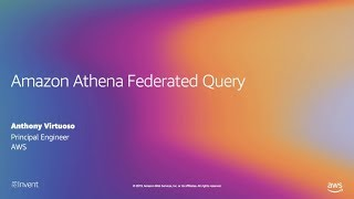 Amazon Athena Federated Query