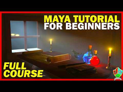 Maya Tutorial for Beginners 2021 | 2022