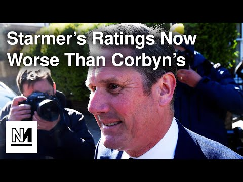 Keir Starmer's Ratings Now WORSE Than Jeremy Corbyn's