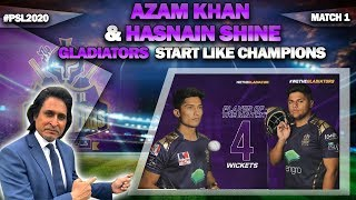 #RamizSpeaks #AzamKhan50 #MohammadHasnain #PSL2020 #IslamabadVsQuetta #SarfarazAhmed   All content on this channel is subject to copyrights and use of this content on any media platform is an infringement. Content cannot be reproduced without prior written permission on the below email address.  This Channel is managed, marketed by HASHTAG (biz@hashtag.com.pk)