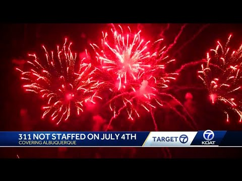 Trouble reporting illegal fireworks on Fourth of July