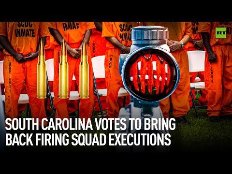 South Carolina votes to bring back firing squad executions