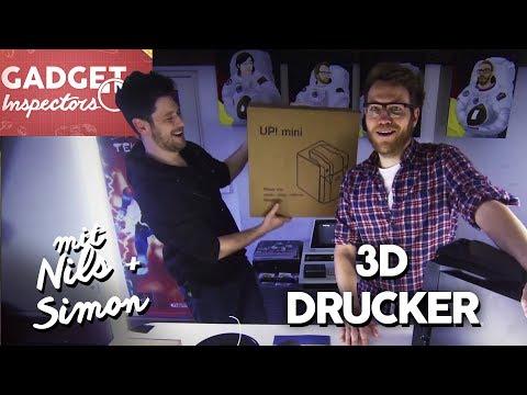 Gadget Inspectors   UP! mini 3D Drucker