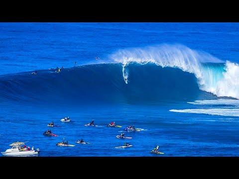 BIG WAVE SURFING COMPILATION 2018