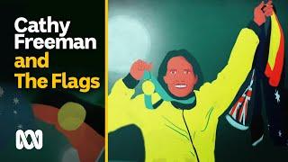 Cathy Freeman and the flags | Freeman | ABC Australia