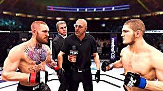 UFC 3 БОЙ Конор МакГрегор vs Хабиб Нурмагомедов (com. vs com.)