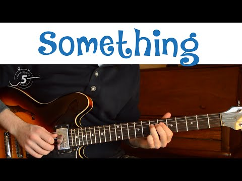 "Guitar Solo - ""Something"" by The Beatles - Original Speed and Slower, with Backing Track"