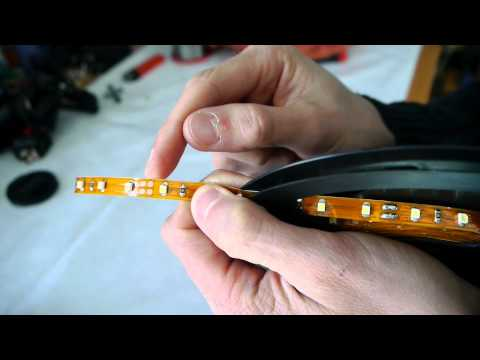 Led Streifen getestet! ebay smd LED beleuchtung modding pc smd