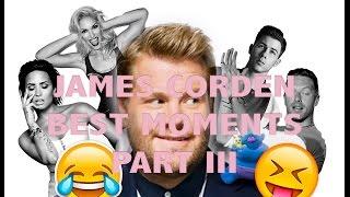 JAMES CORDEN || Best moments part 3