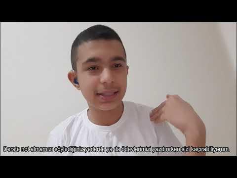 Türk İşaret Dili Ortaokul-Lise Videoları-5