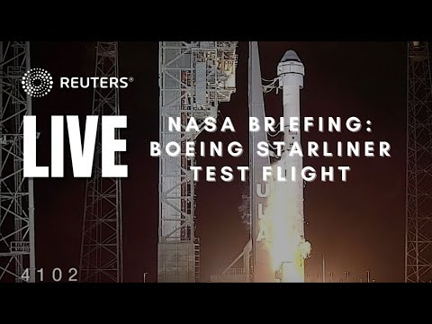 LIVE: NASA Administrator Bill Nelson gives an update on Boeing Starliner test flight