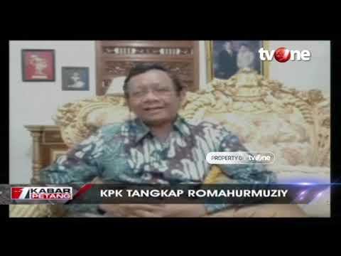 Ini Tanggapan Prof. Mahfud MD Soal Penangkapan Romahurmuziy oleh KPK