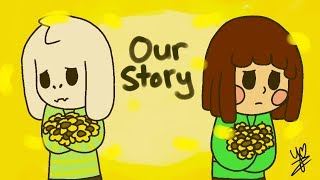 Undertale Animation - Asriel and Chara's Story