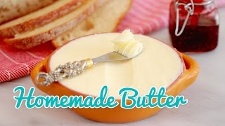 How To Make Homemade Butter - Gemmas Bold Baking Basics Ep 19