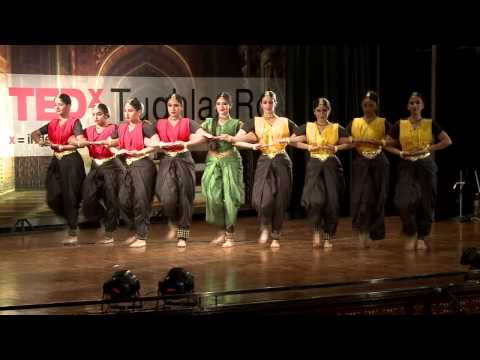 Newton's third law of karma: MAYA -- INNOVATIVE BHARATANATYAM at TEDxTughlaqRd (видео)