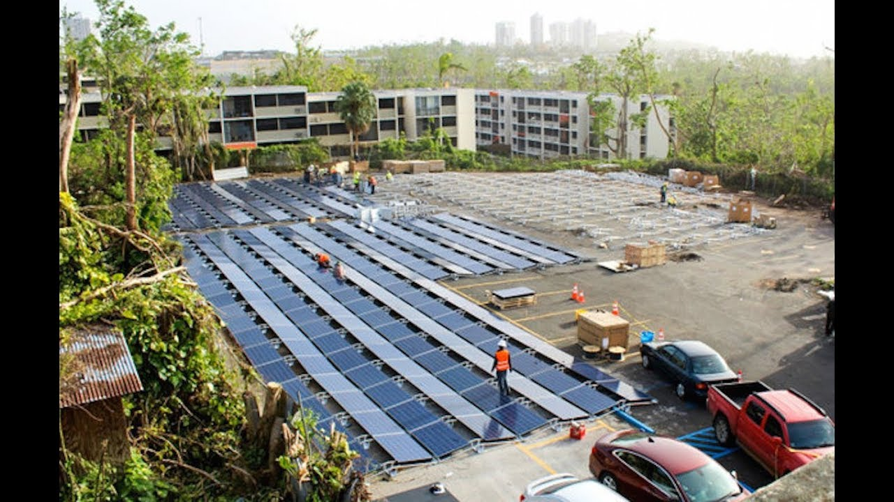 Tesla Hooks Up Puerto Rican Children's Hospital With Solar Power thumbnail