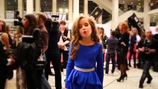 Александра Абрамейцева - Вторая Реальная Премия MUSIC BOX 2014, Ковровая дорожка