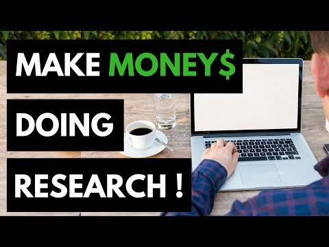 Make Money Doing Research Online – Earn Up To $75 Per Hour