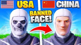 15 Things BANNED In Fortnite CHINA!