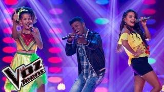 Laura, Rachel y Super Boy cantan 'De donde vengo yo'   Batallas   La Voz Teens Colombia 2016