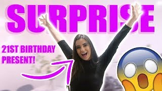 NICOLE GETS HER LATE 21ST BIRTHDAY PRESENT FROM HER MUM!!