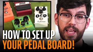 How To Order Guitar Pedals In Your Signal Chain