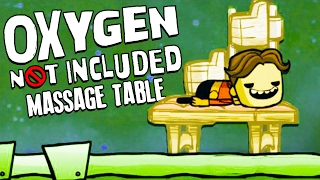 MASSAGE TABLE! - Oxygen Not Included Gameplay - Oxygen Not Included Alpha Part 3