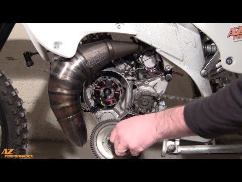 Tuto Remplacement de l'allumage d'origine sur une moto 50cc équipée d'un moteur Minarelli AM6