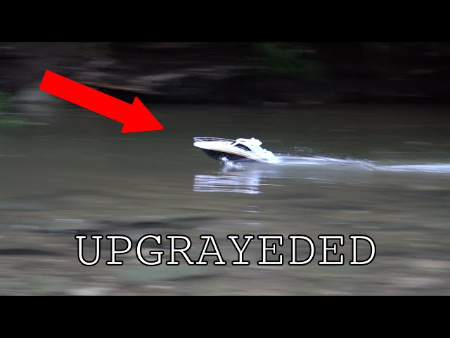 Cheap Walmart RC boat mods