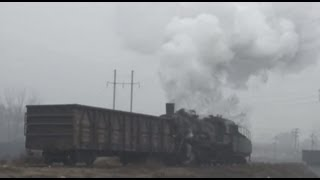 preview picture of video '[China Steam Loco SY]Yiyang Chemical fertilizer plant Railway SY0509 宜陽の上游型蒸機'