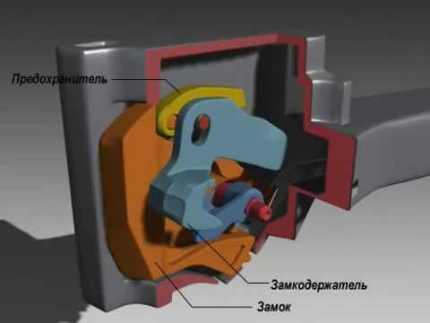 Автосцепка СА-3. Устройство и основные узлы.